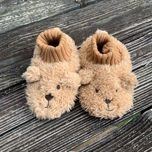Baby Gap Fluffy Puppy Slippers